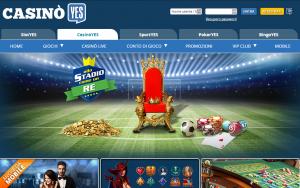 CasinoYes: 20€ di bonus senza deposito